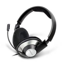 Наушники с микрофоном Creative HS-620 серебристый / черный