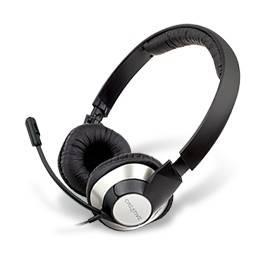 Наушники с микрофоном Creative HS-720 серебристый / черный