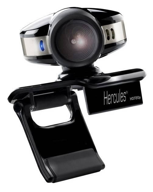 Веб-камера Hercules Emotion 720P черный - фото 1
