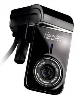 Веб-камера Hercules HD720 черный