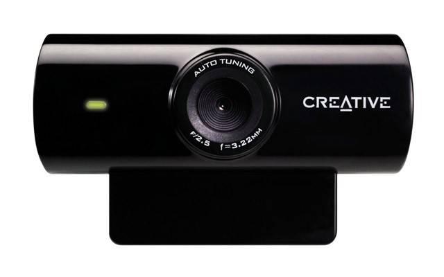 Веб-камера Creative Live! Cam Sync черный - фото 2