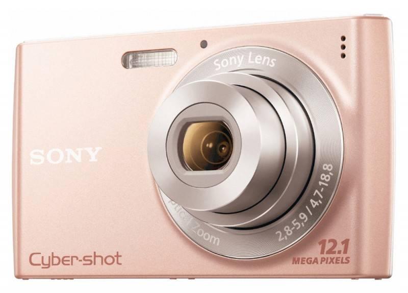 Фотоаппарат Sony Cyber-shot DSC-W510 розовый - фото 1