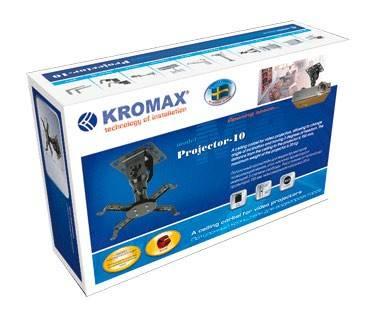Кронштейн для проектора Kromax PROJECTOR-10 серый - фото 1