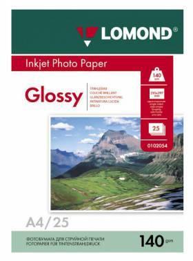 Бумага Lomond (0102076) A4 / 140г / м2 / 25л. белый