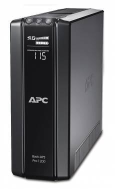 ИБП APC Back-UPS Pro BR1200GI черный
