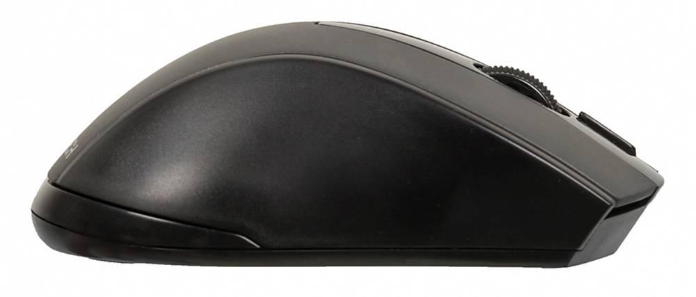 Мышь A4 V-Track G9-500F-1 черный - фото 2