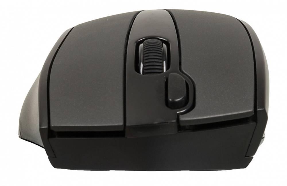 Мышь A4 V-Track G9-500F-1 черный - фото 4