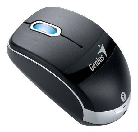 Мышь Genius Micro Traveler 900LS черный/серебристый - фото 1