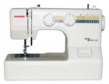 Швейная машина Janome My Style 100 белый (100MS)