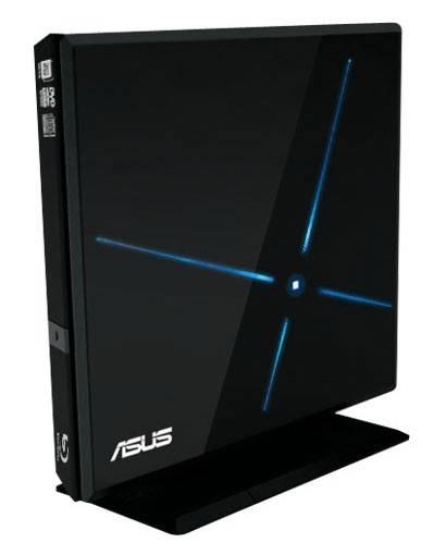 Оптический привод USB2.0 ASUS SBC-06D1S-U/BLK/G/AS - фото 1