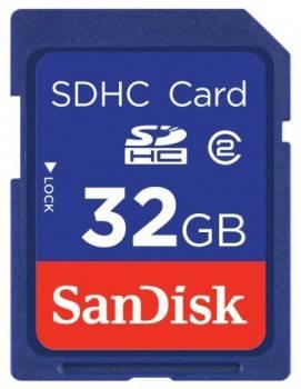Карта памяти SDHC 32Gb Class4 Sandisk SDSDB-032G-B35