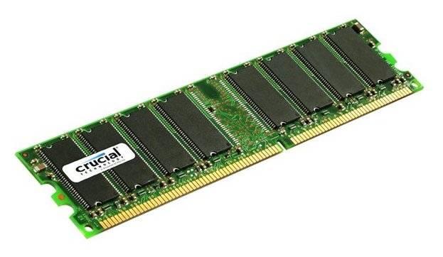 Модуль памяти DIMM DDR 512Mb Crucial CT6464Z40B - фото 1