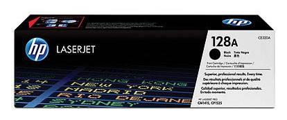 Тонер Картридж HP 128A CE320A черный - фото 1