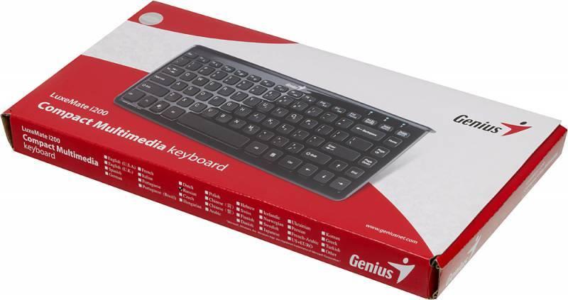 Клавиатура Genius i200 черный - фото 6