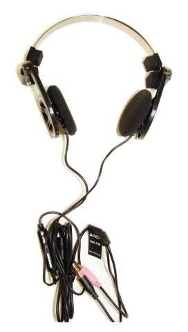 Наушники с микрофоном A4 T-100 черный - фото 1