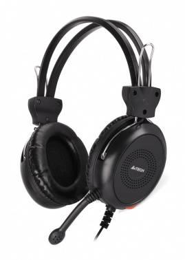 Наушники с микрофоном A4 HS-30 черный