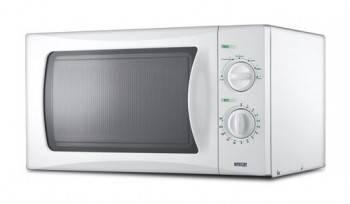 Микроволновая Печь Mystery MMW-1710 белый, мощность 700Вт, объем 17л, механическое управление
