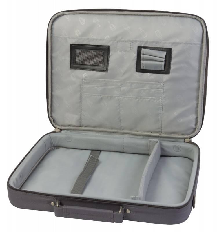 "Сумка для ноутбука 15.6"" PC Pet 600D темно-серый (PCP-A1015GY) - фото 2"