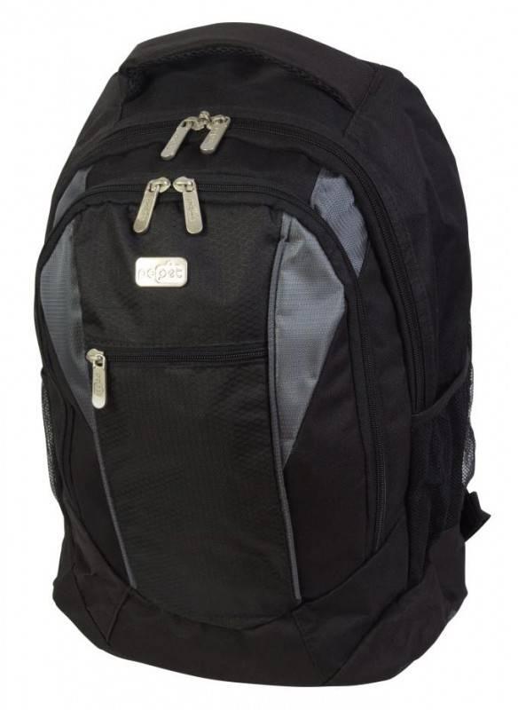 """Рюкзак для ноутбука 15.6"""" PC Pet PCP-RX1500P черный/серый - фото 1"""