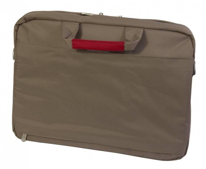 "Сумка для ноутбука 15.4"" PC Pet PCP-M9115N светло-серый/красный - фото 5"