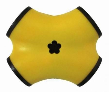 USB хаб CBR CBR CH 100  USB 2.0 желтый пассивный - фото 1