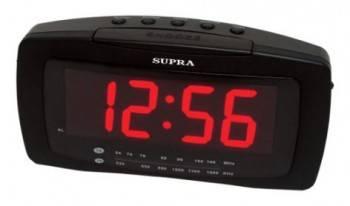 Радиобудильник Supra SA-28FM черный