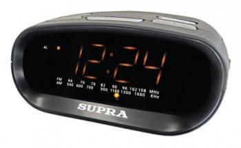 Радиобудильник Supra SA-32FM черный
