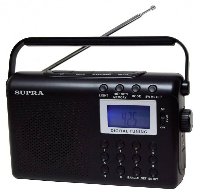 Радиоприёмник Supra ST-116 - фото 1