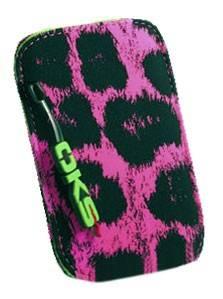 Чехол Interstep BLANKET леопард, для универсальный, розовый/черный (SBLA46-000000-K1505T-K101)