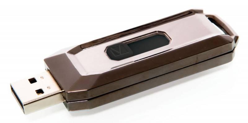 Флеш диск Verbatim Store n Go Executive 64ГБ USB2.0 серебристый - фото 2