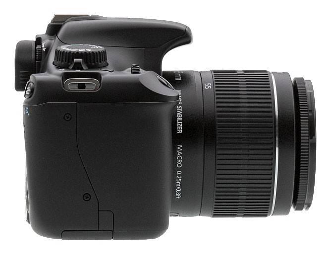 Фотоаппарат Canon EOS 1100D черный, 1 объектив EF-S 18-55 мм f/3.5 - 5.6 IS II - фото 4