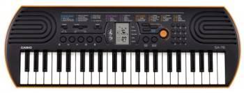 Синтезатор Casio SА-76 оранжевый (SA-76)