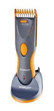 Машинка для стрижки волос Scarlett SC-261 серый - фото 1