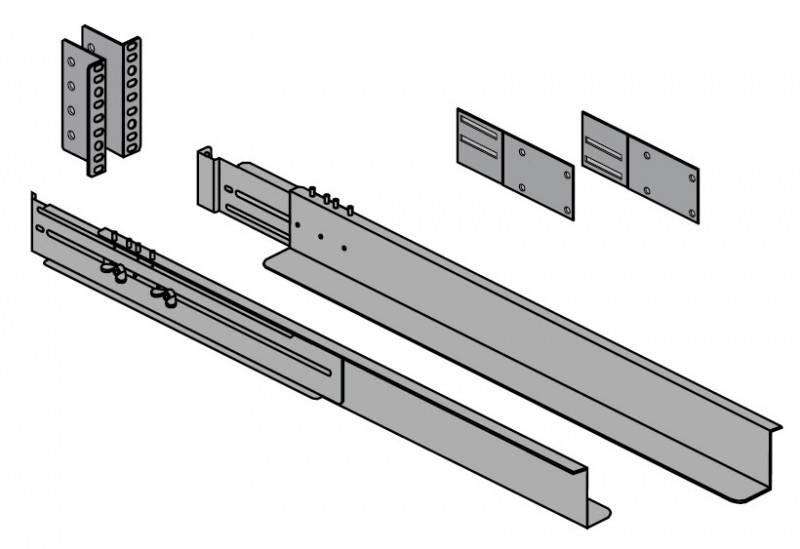 Крепление Eaton (68002) MX / EX RT EXB Rack Kit - фото 1