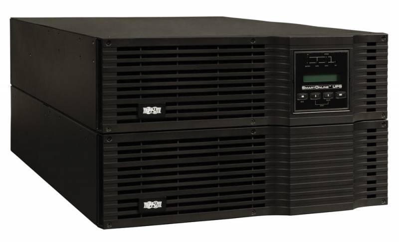 ИБП Tripplite SmartOnline SU6000RT3UHV черный - фото 1