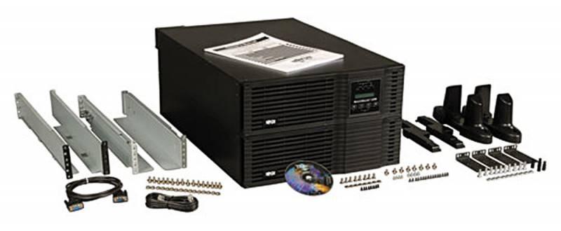 ИБП Tripplite SmartOnline SU6000RT3UHV черный - фото 3