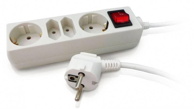 Сетевой удлинитель PC Pet AP02009-5 5м белый - фото 1