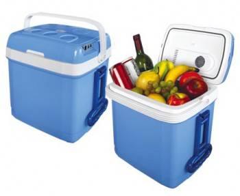 Автохолодильник Mystery MTC-30 голубой / белый