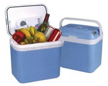 Автохолодильник Mystery MTC-32 голубой / белый