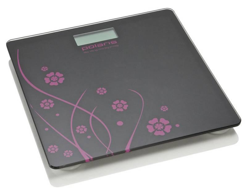Весы напольные электронные Polaris PWS1523DG черный/рисунок - фото 2