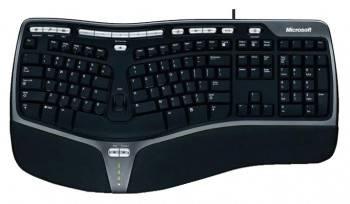 Клавиатура Microsoft 4000 черный/серебристый (B2M-00020)