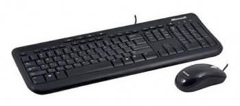 Комплект клавиатура+мышь Microsoft 400 черный / черный