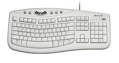 Клавиатура Microsoft Comfort Curve 2000 белый - фото 1
