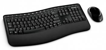 Комплект клавиатура+мышь Microsoft Comfort 5050 черный / черный