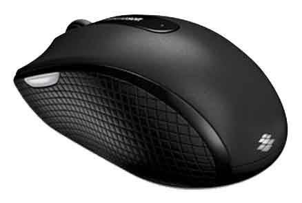 Мышь Microsoft 4000 черный - фото 2