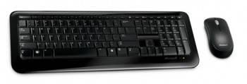 Комплект клавиатура+мышь Microsoft 800 черный / черный