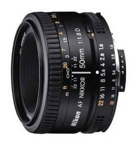 Объектив Nikon AF Nikkor 50mm f/1.8 (JAA013DA)
