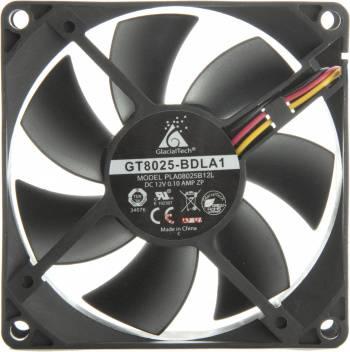 Вентилятор Glacialtech GT8025-BDLA1, размер 80x80x25мм (CF-8025SBD0AB0031)