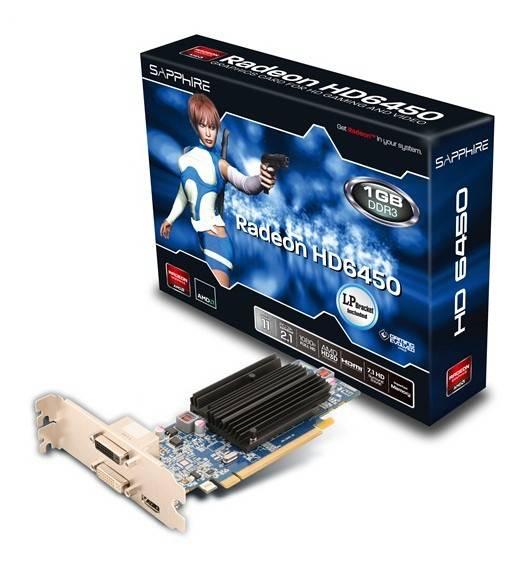 Видеокарта Sapphire HD6450 1024 МБ (11190-02-20G) - фото 2