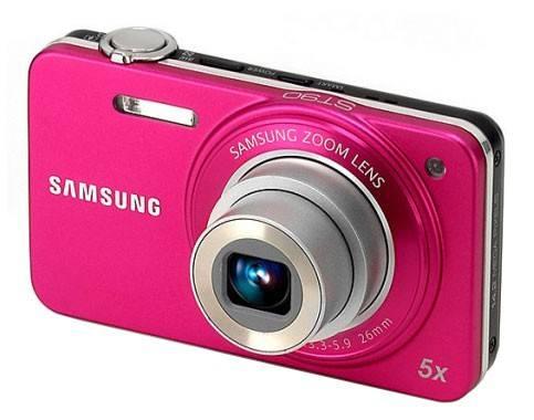 Фотоаппарат Samsung ST90 розовый - фото 1